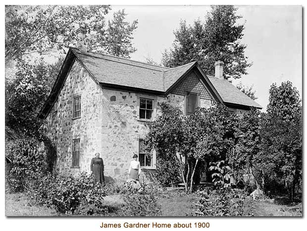 James Gardner Home about 1900