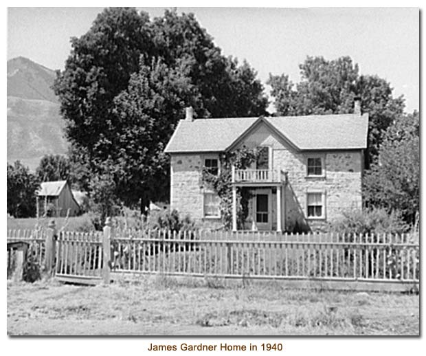 James Gardner Home in 1940