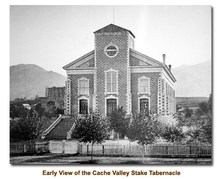 Logan Tabernacle for the Cache Valley Stake