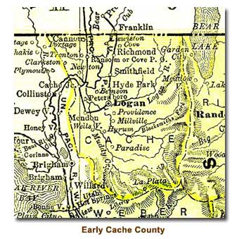 An Early History Of Cache County Introduction