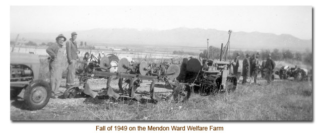 1949 Mendon Welfare Farm