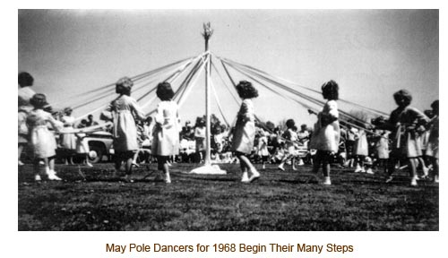 1968 May Pole Dancers