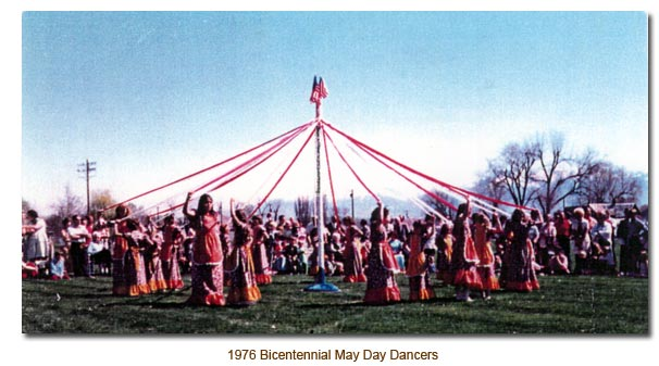 Bicentennial May Day Dancers.