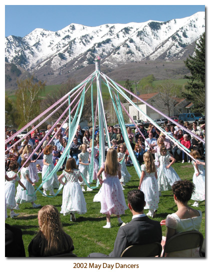 Mendon May Day Dancers, 2002