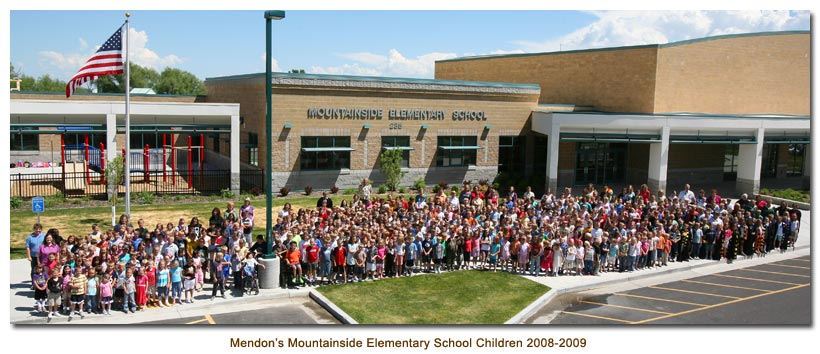 Mendon's Mountainside Elementary School Children of 2008-2009