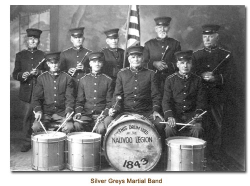 Silver Greys Martial Band